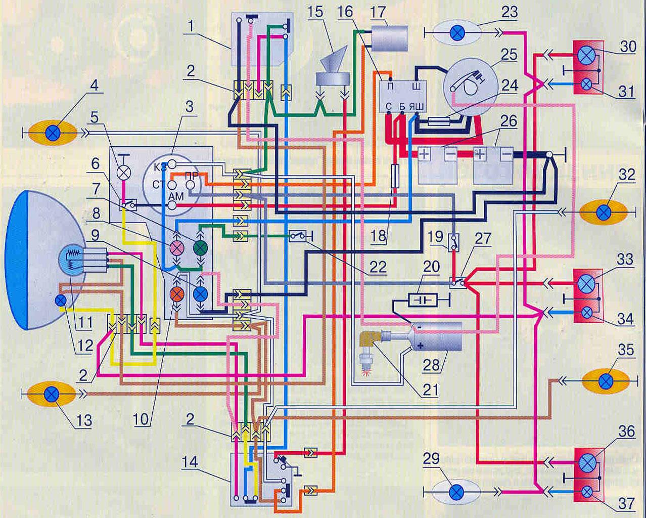 Схема мотоцикла муравья